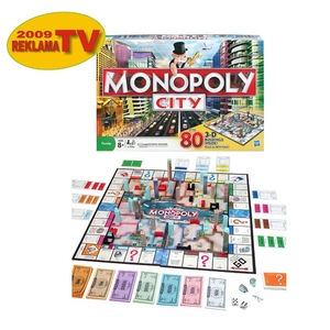 Gra Ekonomiczna Monopoly City - Hasbro