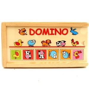 Domino Zwierzątka Drewniane - Brimarex