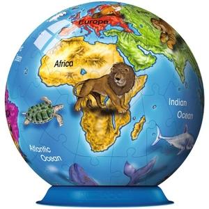 Globus Dla Dzieci Puzzle Kuliste 72el. - Ravensburger