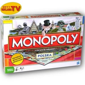 Monopoly Polska Gra Planszowa - Hasbro