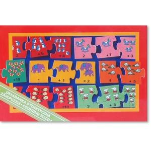 Gra Puzzle Dodawanie - Jawo