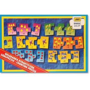Gra Puzzle Odejmowanie - Jawo