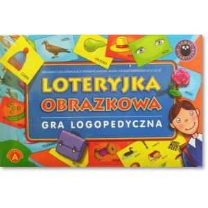 Gra Logopedyczna Loteryjka Obrazkowa - Alexander