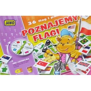 Gra Poznajemy Flagi - Jawo
