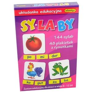 Sylaby Układanka Edukacyjna - Adamigo