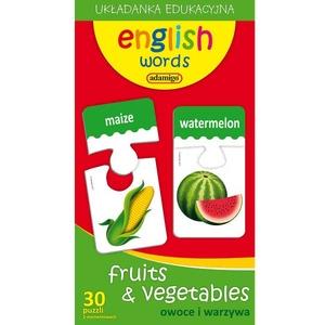 Zestaw Edukacyjny Owoce i Warzywa - Adamigo