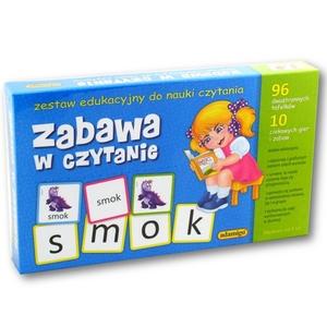 Zestaw Edukacyjny Zabawa Czytanie - Adamigo