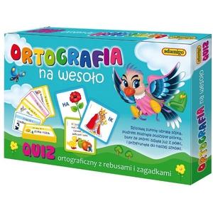 Gra Quiz Ortografia Na Wesoło - Adamigo