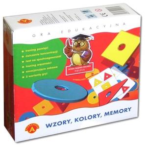 Gra Memory Wzory, Kolory - Alexander