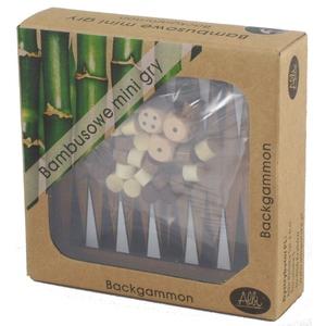 Gra Bambusowa Mini Backgammon - Albi