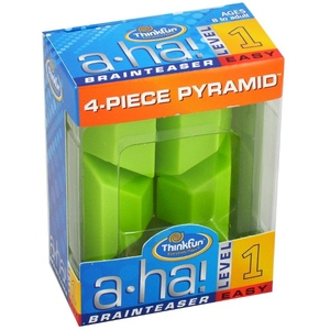 Thinkfun Aha! 4 Piece Pyramid - Thinkfun