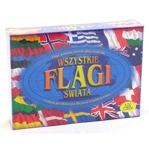 Wszystkie Flagi Świata - gra edukacyjna Albi