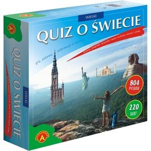 Gra Wielki Quiz O Świecie - Alexander