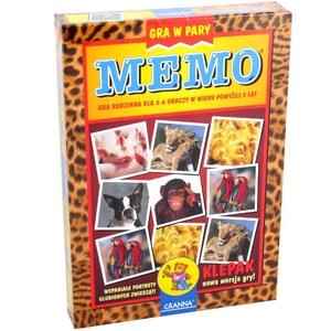 Gra Memo Zwierzaki Cudaki - Granna