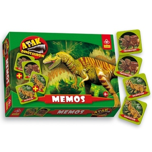 Gra Memo Dinozaury - Trefl