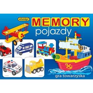 Gra Memory Pojazdy - Adamigo