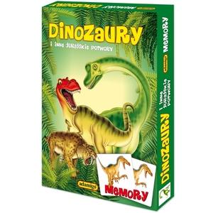 Gra Memory Dinozaury - Adamigo