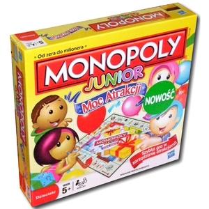 Monopoly Junior Moc Atrakcji - Hasbro
