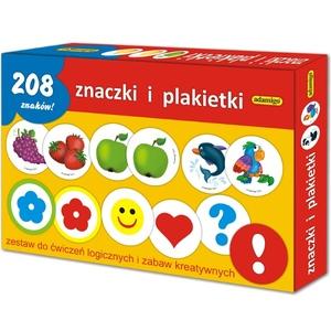 Znaczki I Plakietki Zestaw Edukacyjny - Adamigo