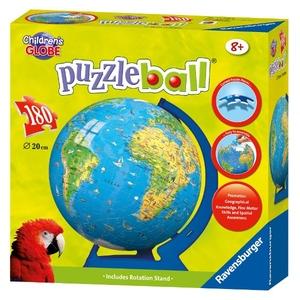 Puzzle 3D Kuliste Globus - Ravensburger