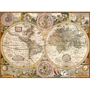 Stara Mapa Świata 3000 Elementów - Clementoni