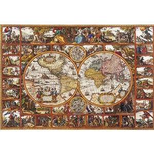 Stara Mapa Świata 6000 Elementów - Clementoni