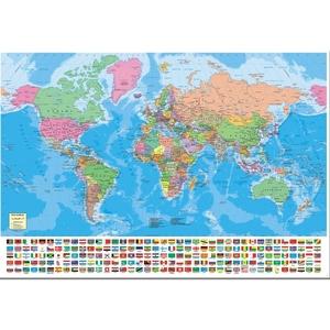 1500 El. Mapa Świata - Educa