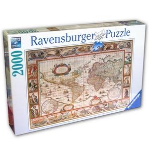 Mapa Świata 2000 Elementów - Ravensburger