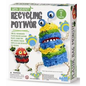 Recykling Potwór Ekologia Dla Dzieci - 4M