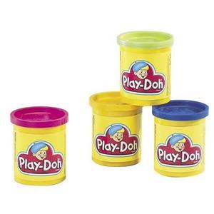 PlayDoh 4 Tuby Ciastoliny - Hasbro