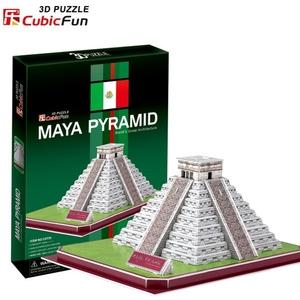Puzzle 3D Piramida Majów - Cubic Fun