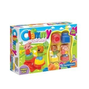 Klocki Clemmy Plac Zabaw My Soft World - Clementoni