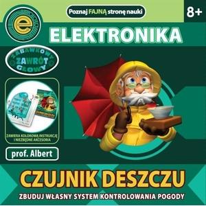Czujnik Deszczu Elektronika Dla Dzieci Prof. Albert - Dromader