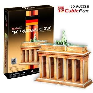 Puzzle 3D Brama Brandenburska - Cubic Fun