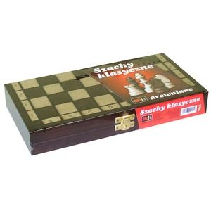 Szachy drewniane klasyczne - Ami Play