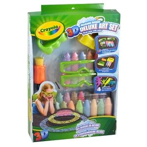 Zestaw Kreda 3D De Lux - Crayola