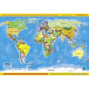 Mapa Polityczna Świata 260 Elementów - Maxim