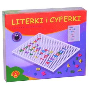 Literki i cyferki w pudełku - Alexander