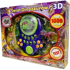 Interaktywny Świad Dinozaurów 3D - Dromader