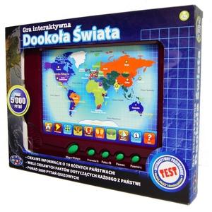 Bardzo dobry Gra Interaktywna Dookoła Świata 2D - Dromader - Zabawki edukacyjne VD05