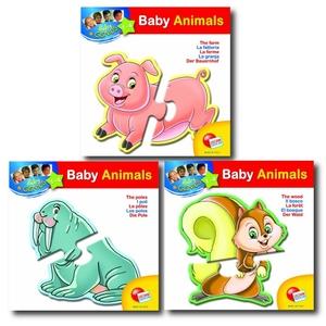 Puzzle Baby Genius Animal - Liscianigiochi