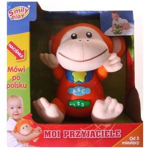 Przytulaczek Małpka Fik Mik - Smily Play