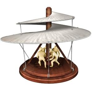 Smily Leonardo Da Vinci Helikopter Model Do Samodzielnego Złożenia - Anek