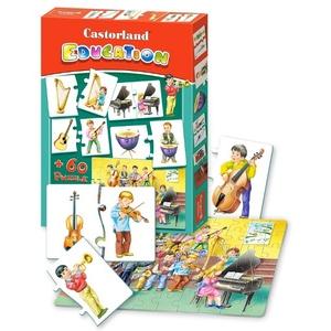 Puzzle Edukacyjne Instrumenty - Castorland