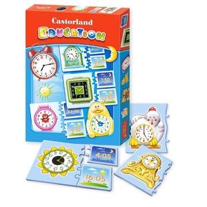 Puzzle Edukacyjne Zegary - Castorland
