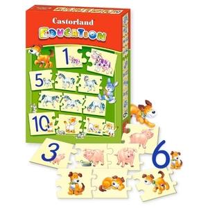 Puzzle Edukacyjne Cyfry - Castorland