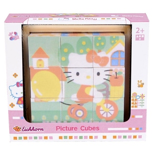Hello Kitty Klocki Z Obrazkami - Eichhorn