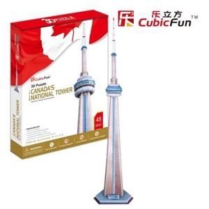 Puzzle 3D CN Tower - Cubic Fun