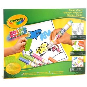 Magiczne Kolorowanie Stempelki - Crayola
