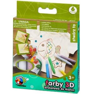 Farby 3D 6 Sztuk - Crayola